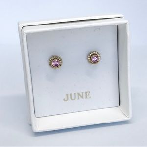 💌 Petits Bijoux Convertible Circle Studs- June